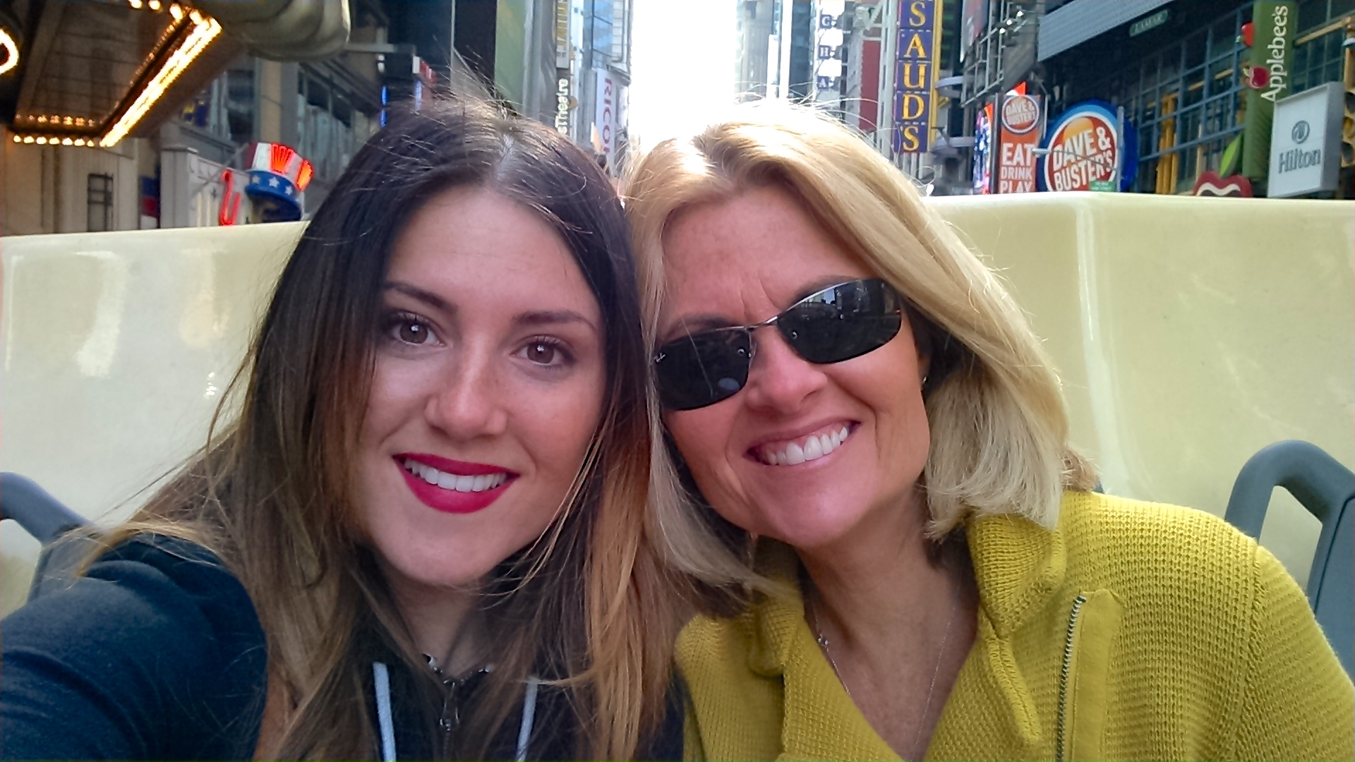 Mom and I in NYC - April 2015