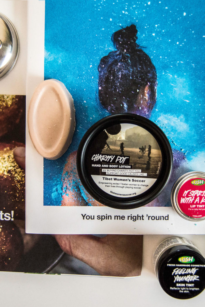 Travel Goodies Giveaway – Lush Handmade Cosmetics