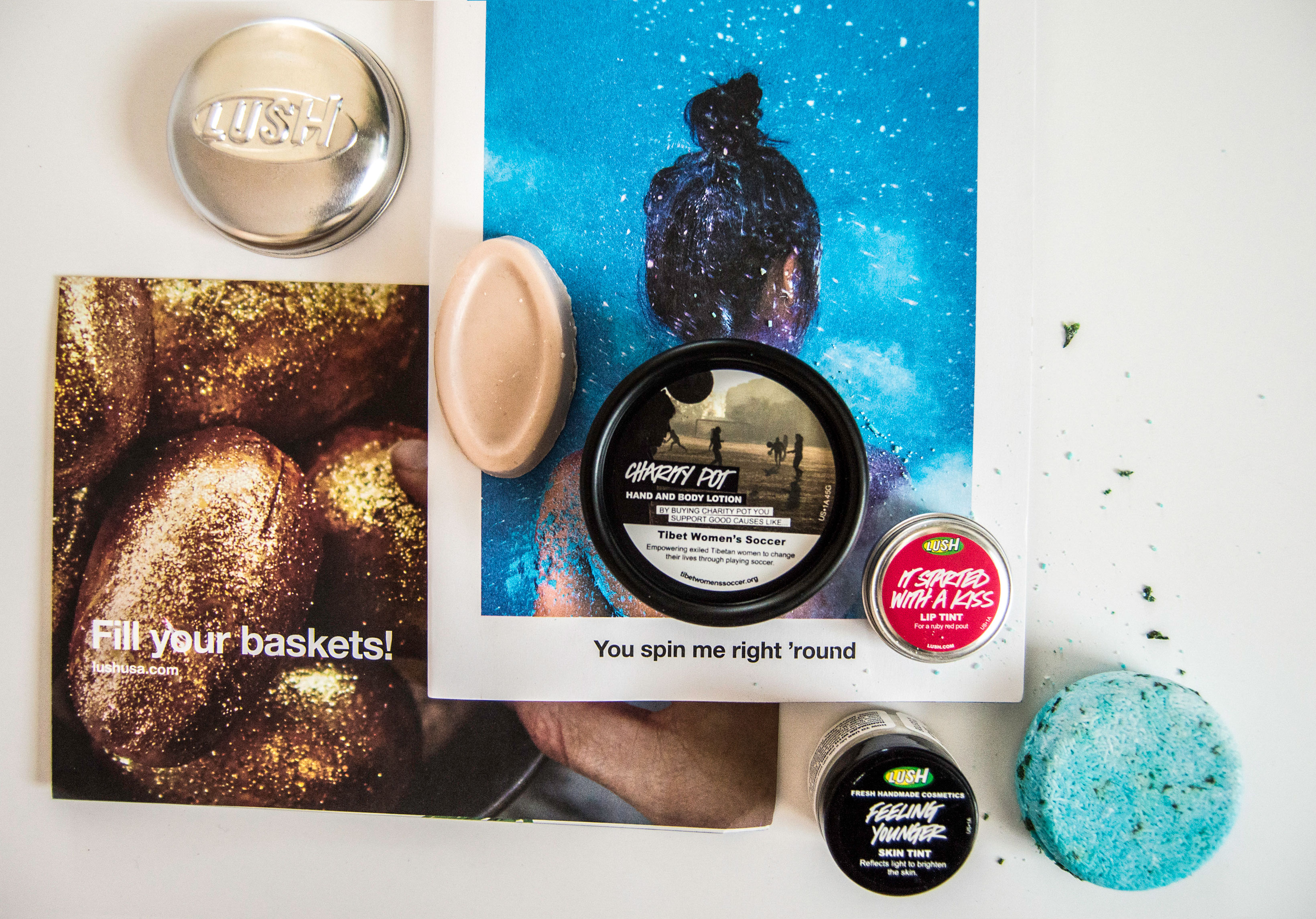 Travel Goodies Giveaway - Lush Handmade Cosmetics