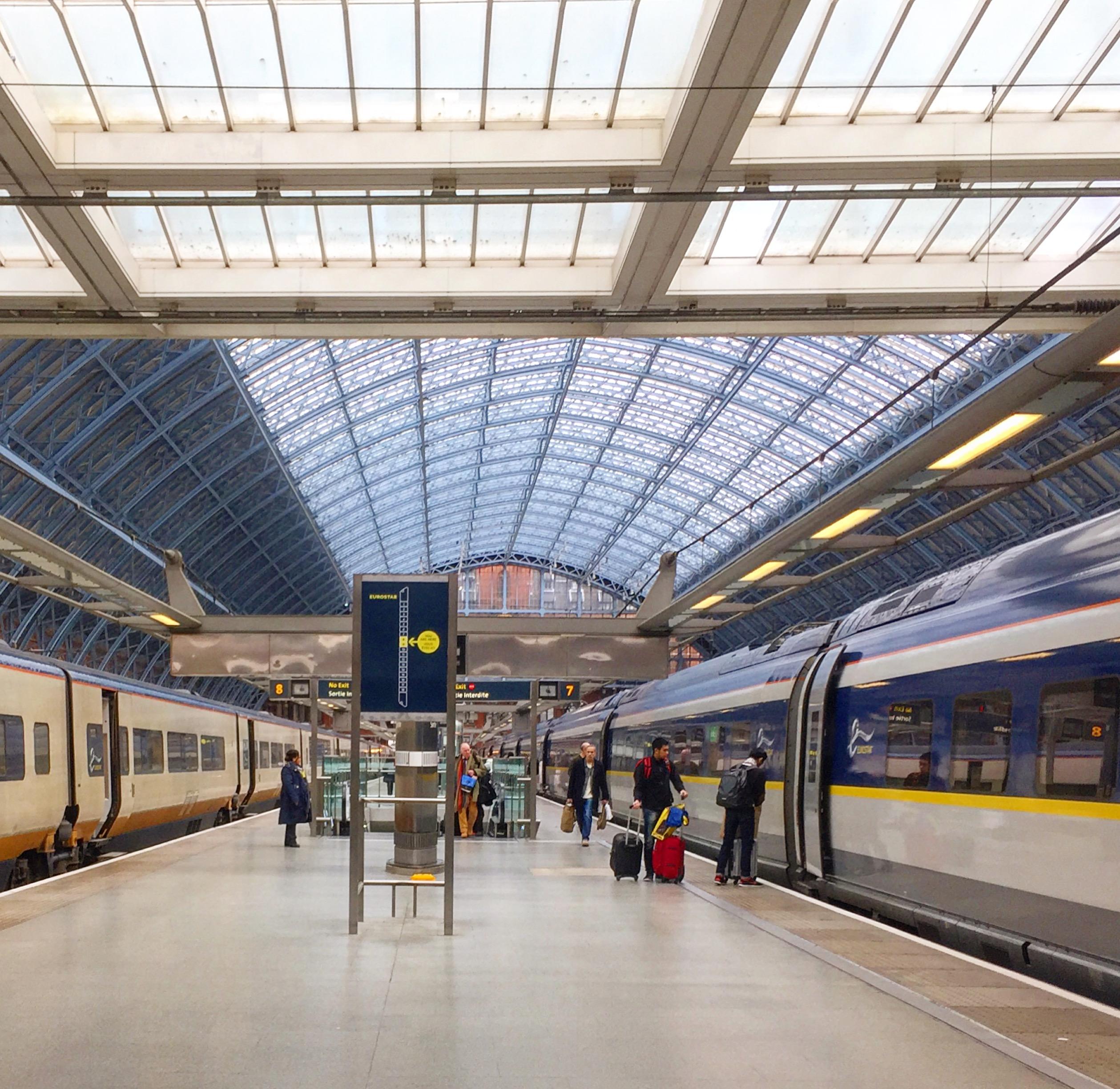 Escape to Europe - Eurostar Train
