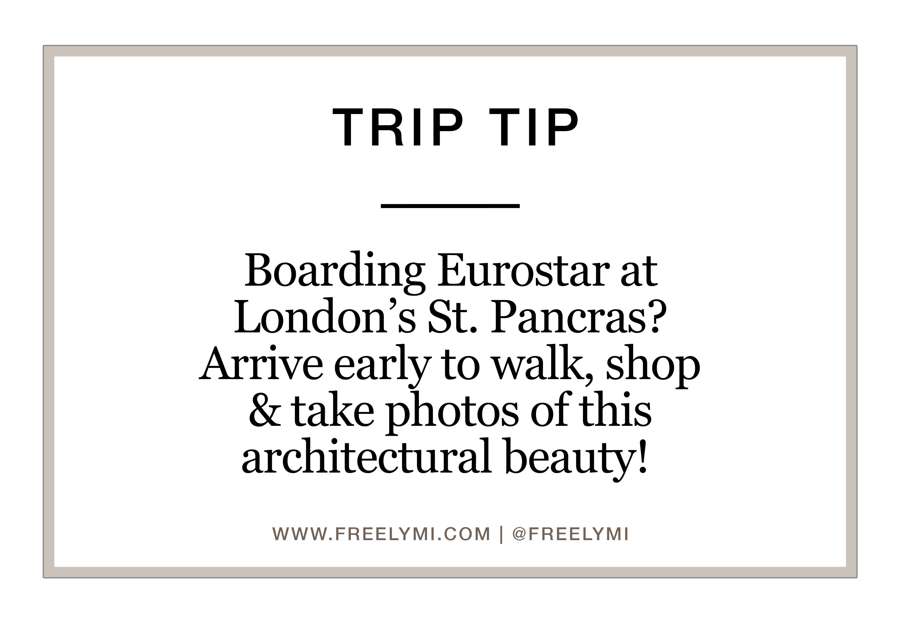 TRIP-TIP---EUROSTAR-LONDON