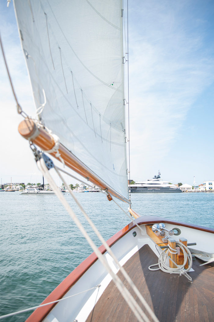 Sailing Newport Harbor | Rhode Island Travel